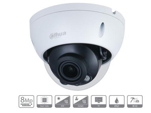 Telecamera IP Dome 4K 8MP