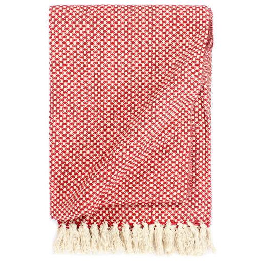 Immagine di Copriletto in Cotone 125x150 cm Rosso