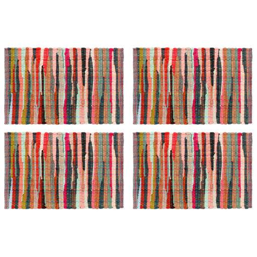 Immagine di Tovagliette 4 pz Chindi Neutro Multicolore 30x45 cm Cotone