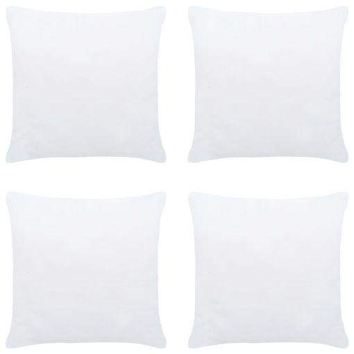 Immagine di Imbottitura per Cuscini 4 pz 30x30 cm Bianco