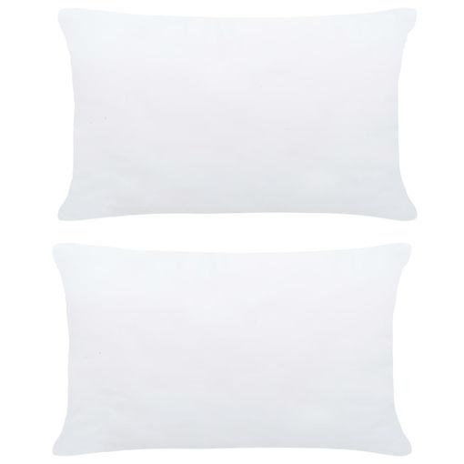 Immagine di Imbottitura per Cuscini 2 pz 50x30 cm Bianco