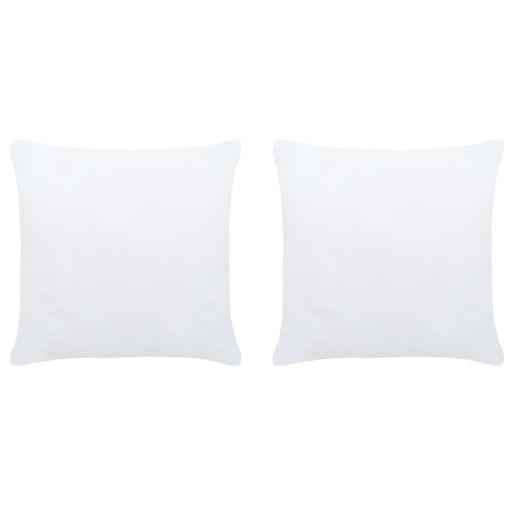 Immagine di Imbottitura per Cuscini 2 pz 45x45 cm Bianco