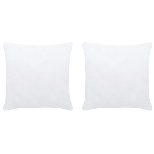 Immagine di Imbottitura per Cuscini 2 pz 50x50 cm Bianco