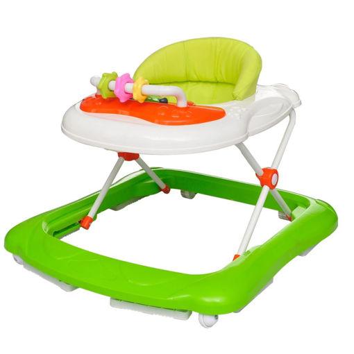 Immagine di Girello per bambini verde