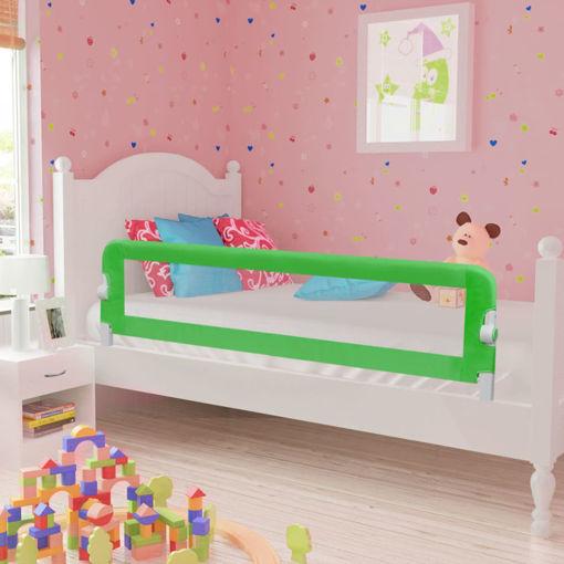 Immagine di Sponda di Sicurezza per Lettino Bambino 150 x 42 cm Verde