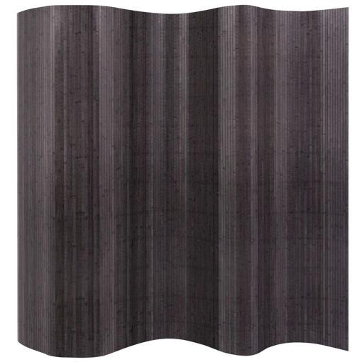 Immagine di Divisorio per Stanza in Bambù Grigio 250x165 cm