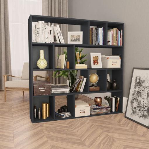 Immagine di Libreria/Divisorio Grigio 110x24x110 cm in Truciolato