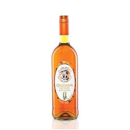 SANTO SPIRITO GENZIANA dei FRATI ELISIR DIVINO Bottiglia 1 Lt